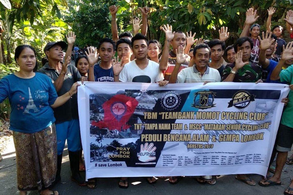 Tanggap Bencana Alam di Lombok