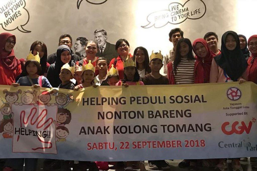Wisata Edukasi: Mengajak Anak-anak Kolong Tomang Nonton Film di CGV Central Park